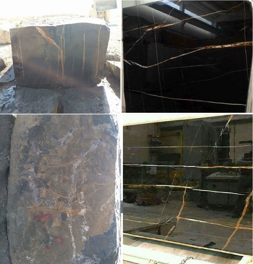 BLACK MARBLE BLACK GOLD MARBLE