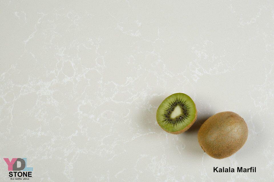 Kalala Marfil Quartz slabs