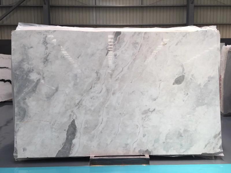 Snowflakes White Marble Ice White Marble