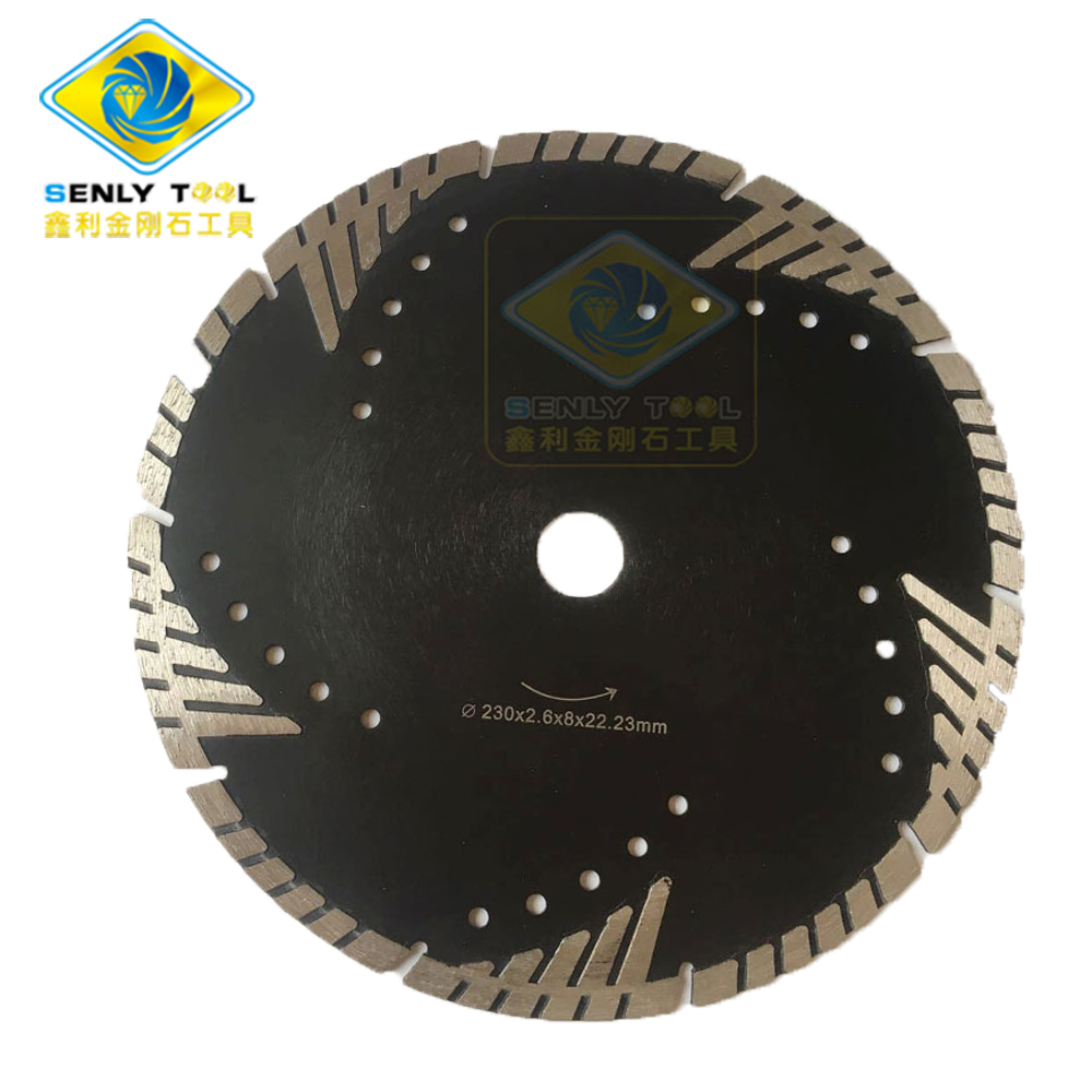 Diamond Turbo Cutting Saw Blade