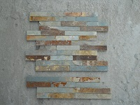 Natural Thin Stacked Stone Wall Cladding