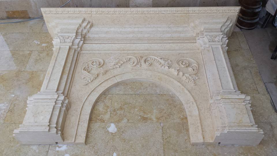Beige Limestone stone