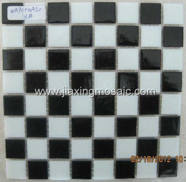 Ceramic swimming pool mosaic