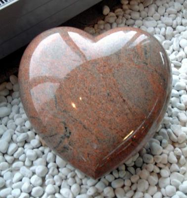China Manufacture Polished India Red Granite Headtone Monument