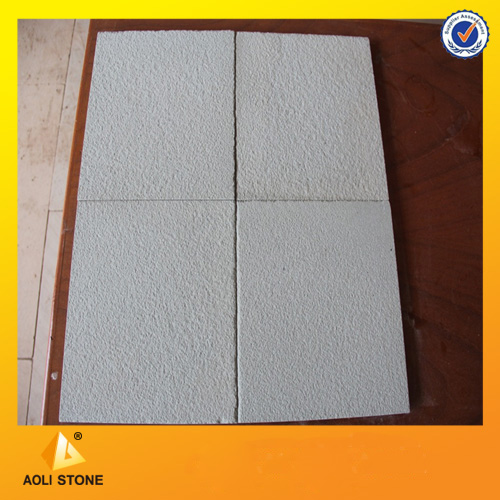 white sandstone tiles for paving and cladding