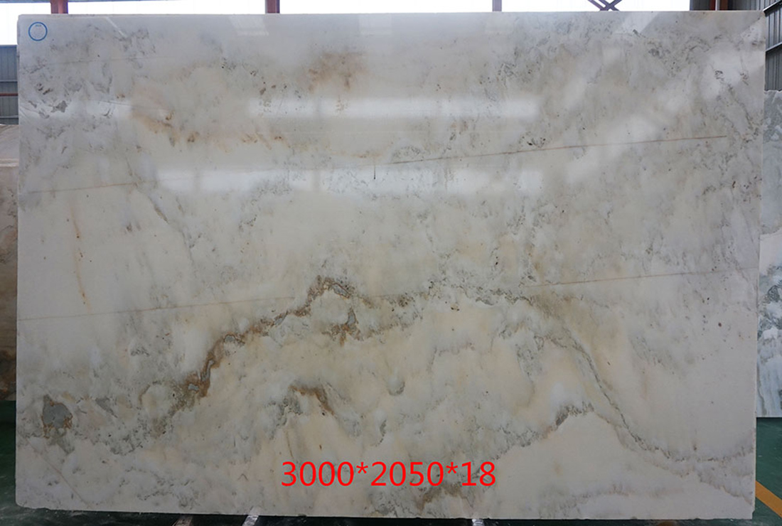 White Marble Slabs Landscape Painting