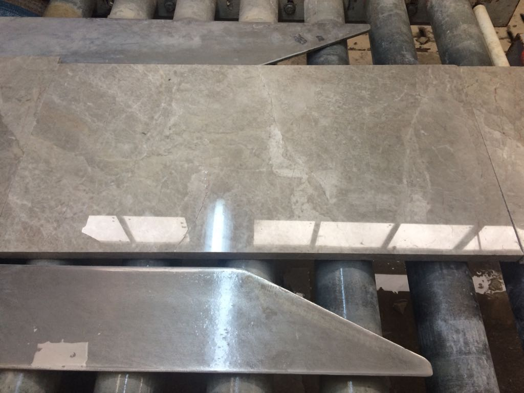 silver grey marble slab tile