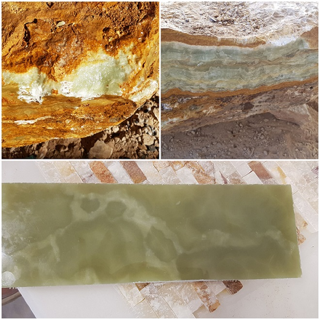 Green Onyx Natural Blocks