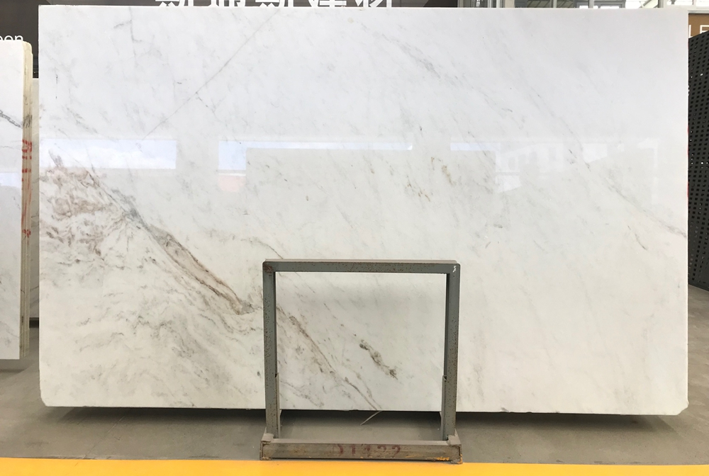 Glorious White Marble Slab North Pearl White Marble