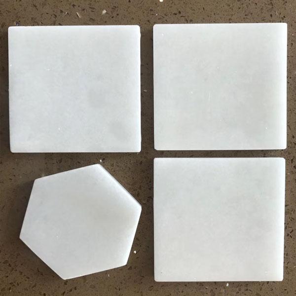 White marble artware