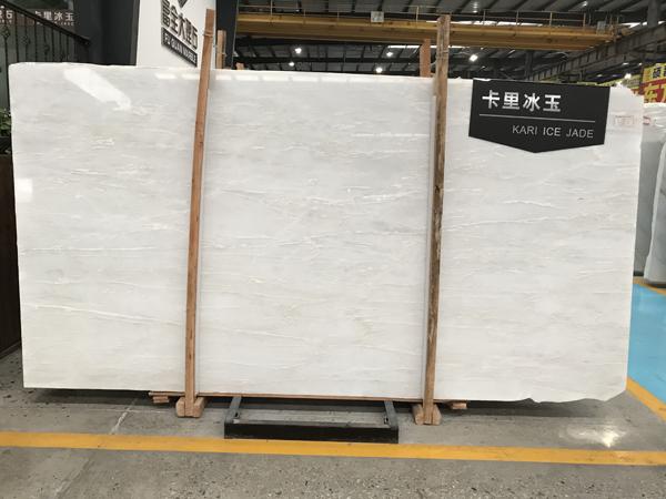 Kari Ice Jade Marble White Marble