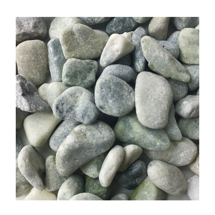 Chinese Hot Sale Dl-003 Green Pebble Ball Stone