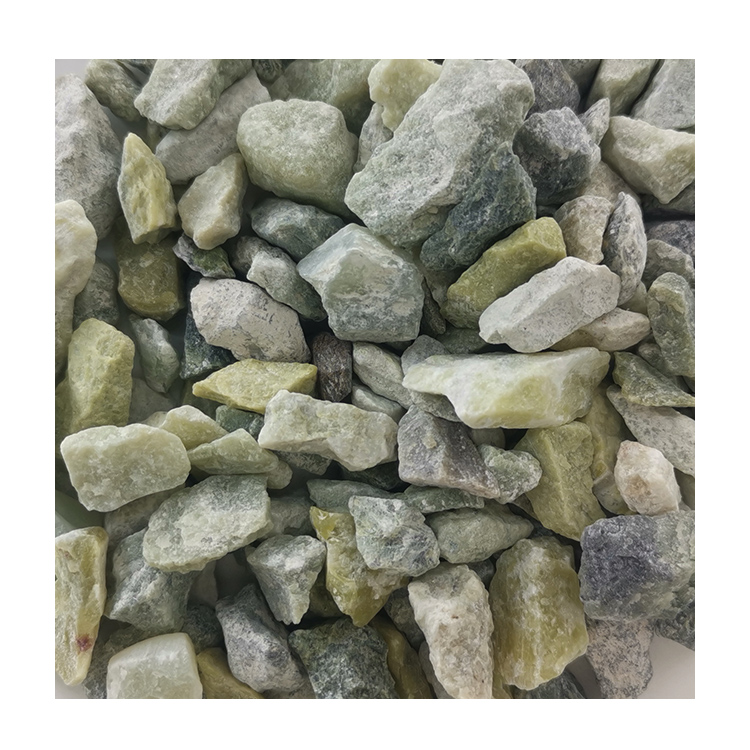 Chinese Hot Sale Dl-004 Green Pebble Gravel Stone