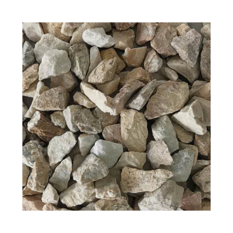 Natural Good Quality Gs-004 Yellow Gravel Stone