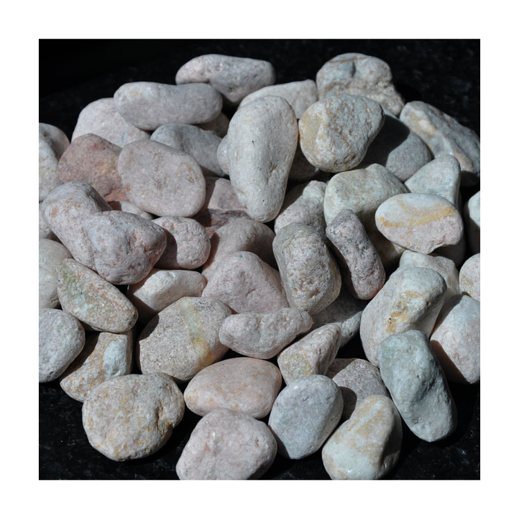 High Quality Gs-009 Pink Pebble Ball Stone