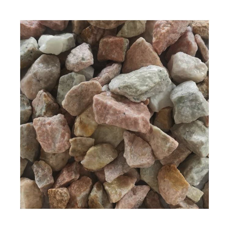 Chinese Hot Sale Gs-010 Pink Pebble Gravel Stone