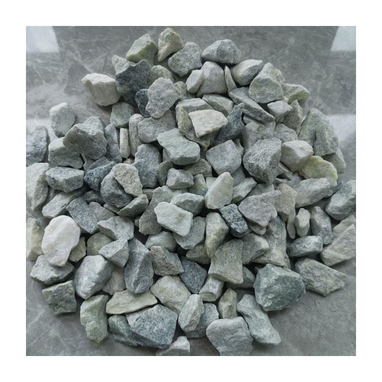 Inexpensive Gs-012 Yellow Green Gravel Stone