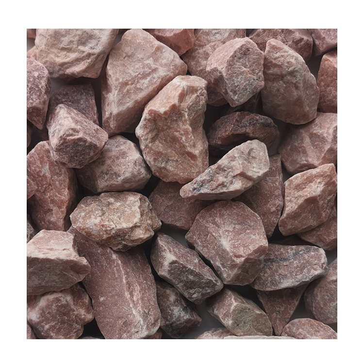 Chinese Hb-003 Deep Pink Pebble Gravel Stone