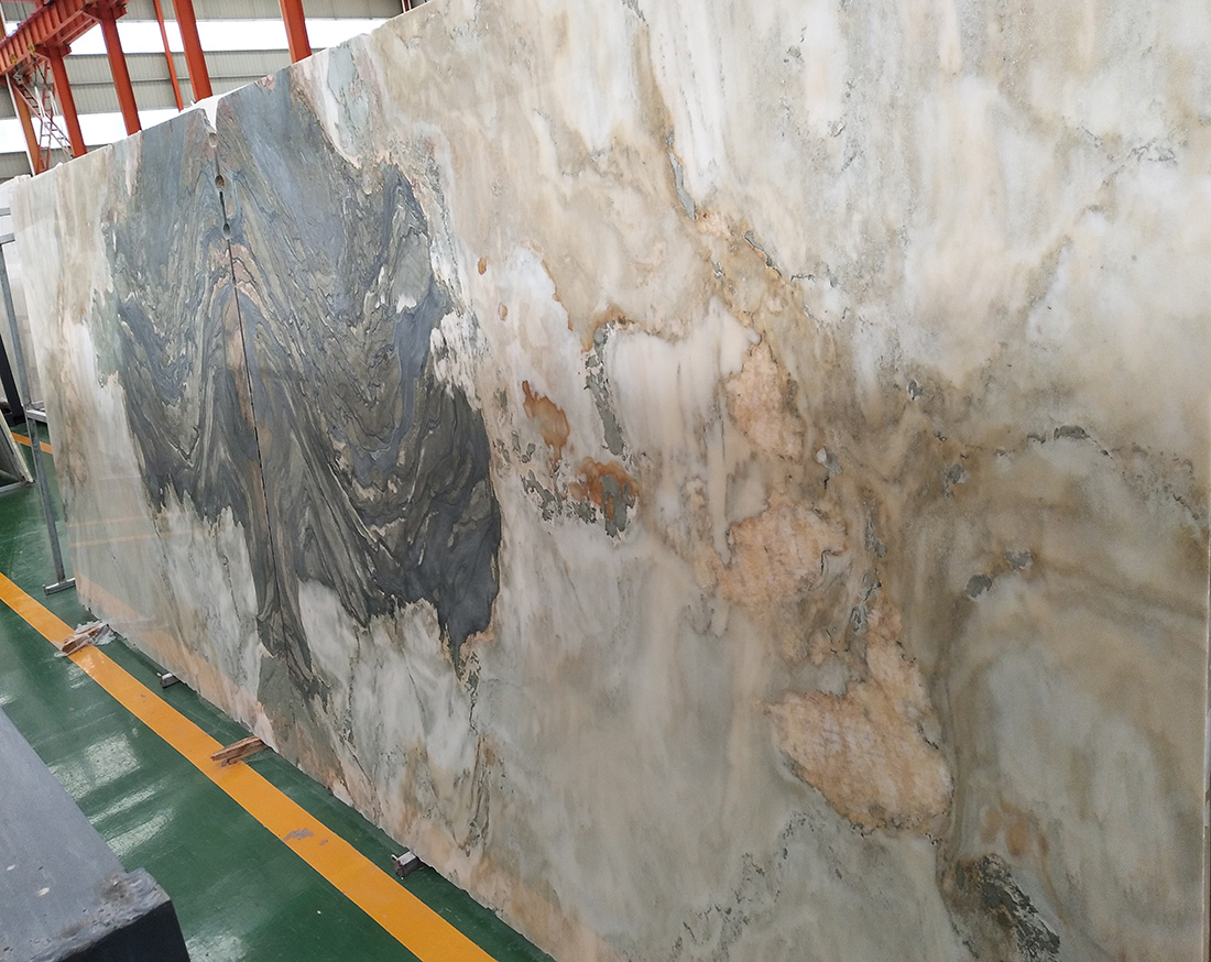 Beautiful marble painting slabs for background wall