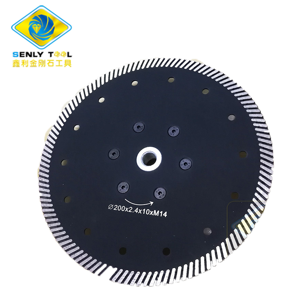 Diamond Continuous Cutting Saw Blade