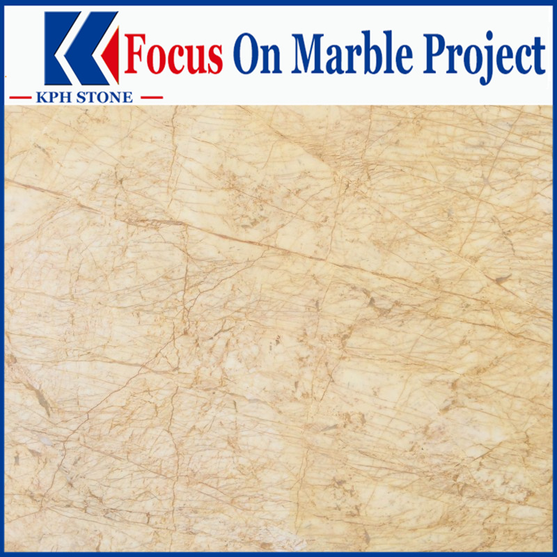 Golden Phoenix Marble tiles for Royal Plaza Hotel