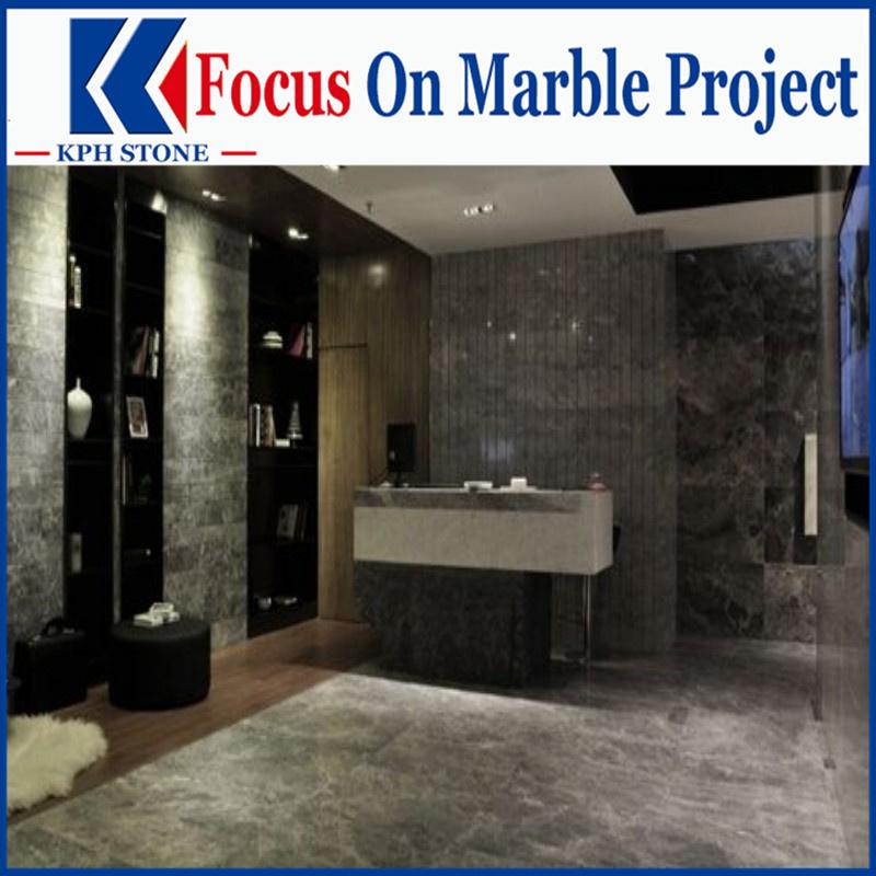 China Cinderella Gray Marble project design