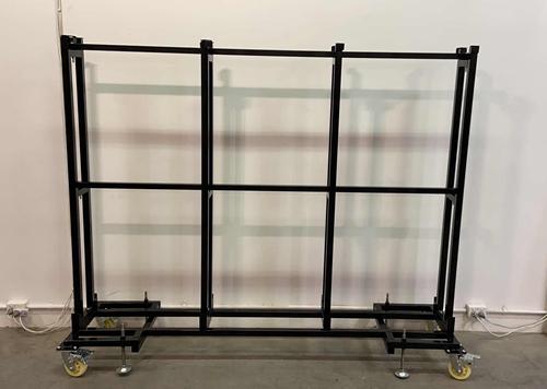 Showroom warehouse Granite slab display rack