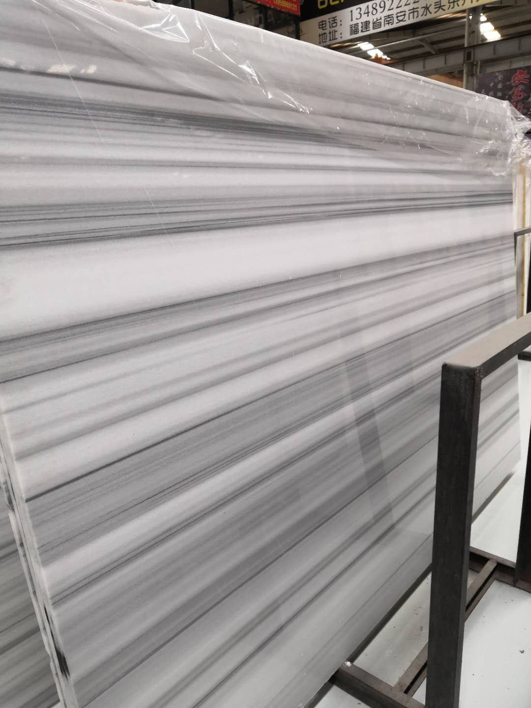White Marble Wooden Slabs