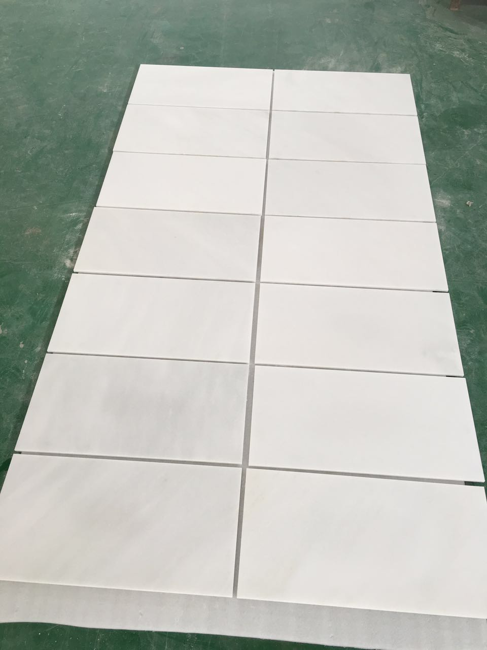 Polished Oriental White Marble Tiles