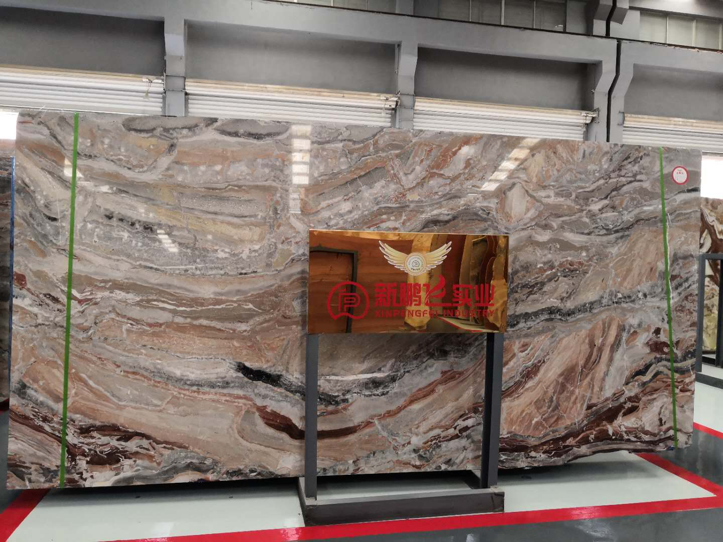 Monica Red Marble Slabs