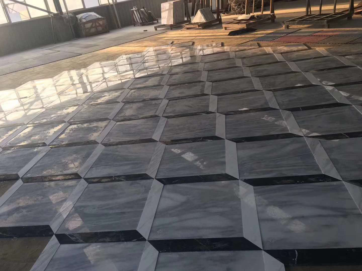 Magic Tiles Polished Grey Marble