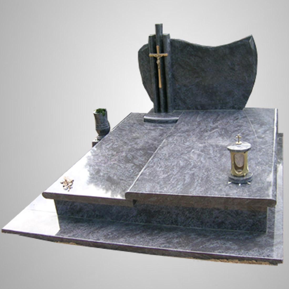 Modern Customized Granite Tombstone Design