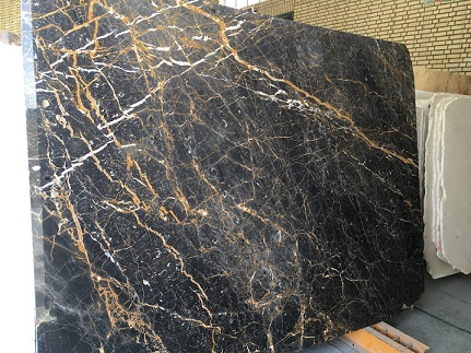 Marble Golden Black