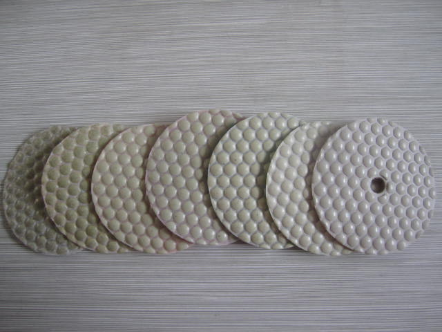 Dry Polishing Pad Diamond Polishing Flexible Grinding Pads