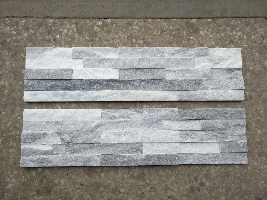 Cloud Grey Quartzite Flat Culture Stone Wall Panel