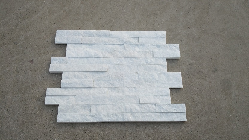 Natural Thin White Stacked Culture Stone