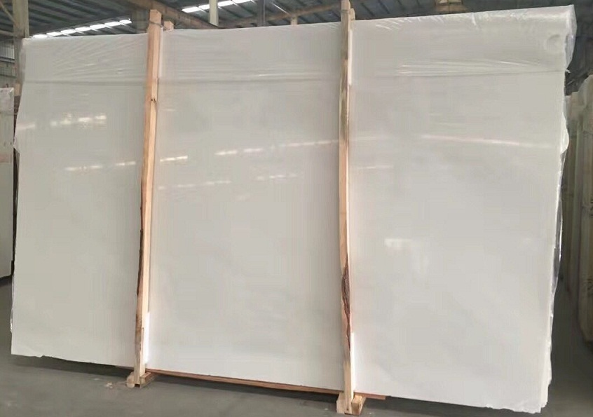 Hanbaiyu White Marble slabs for flooring wall and countertop