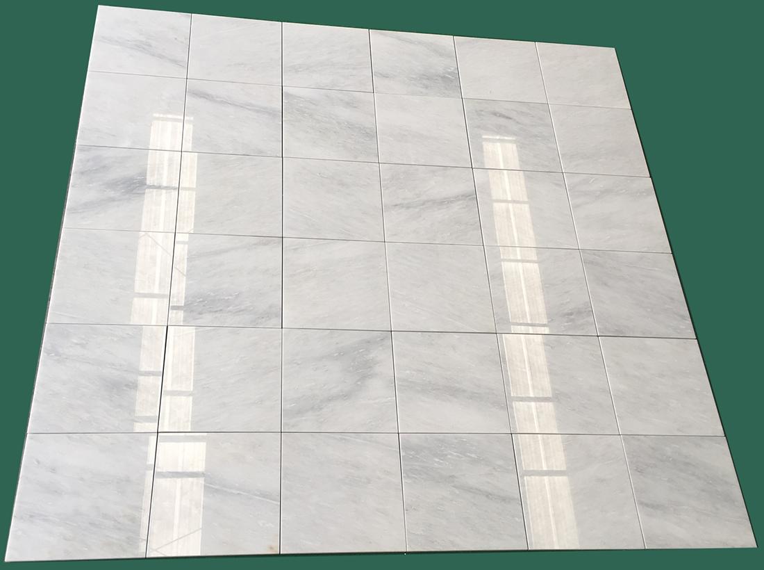 White marble tiles oriental white