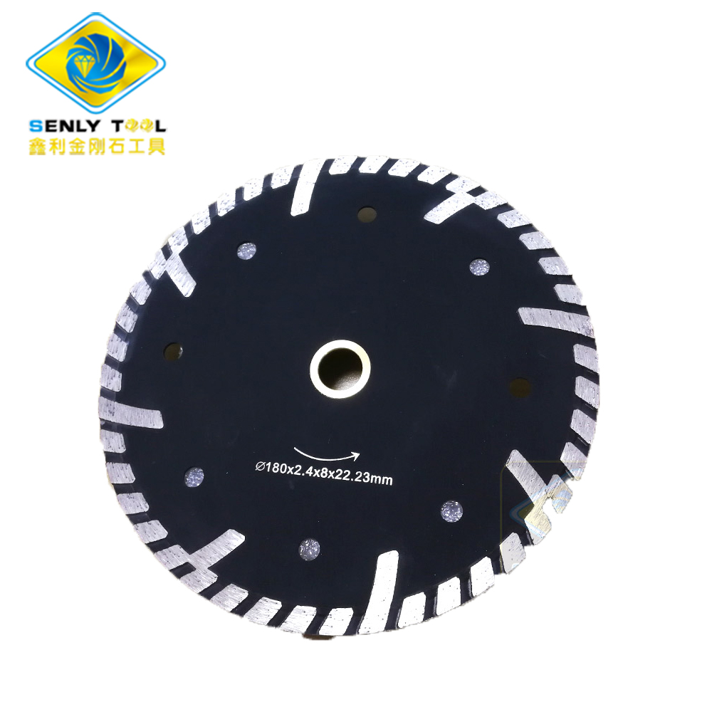 Diamond Turbo Cutting Saw Blade  Continuous Blade
