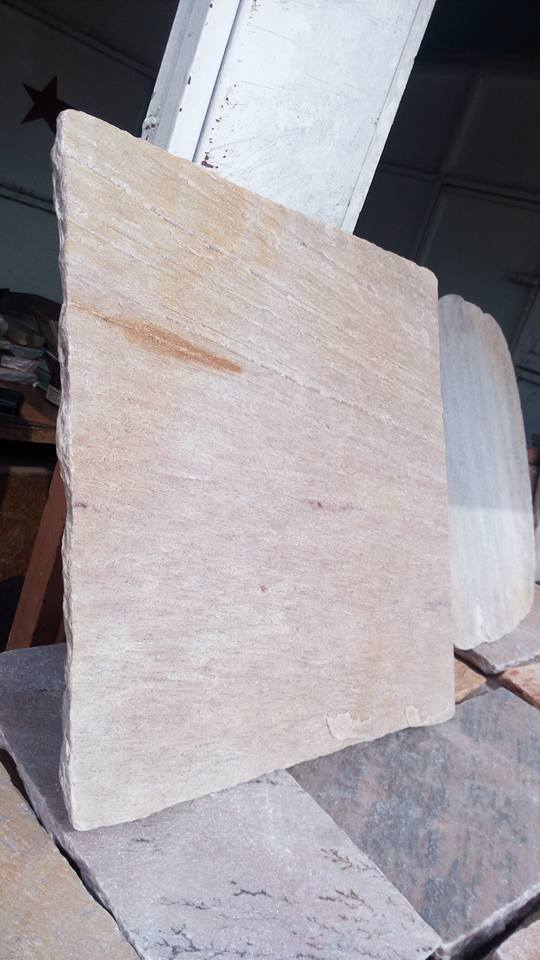 white quartzite stone