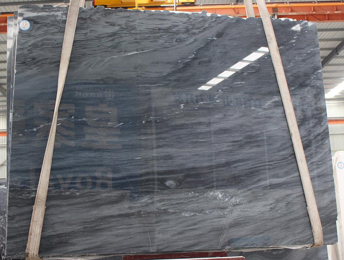 Marble Black slabs