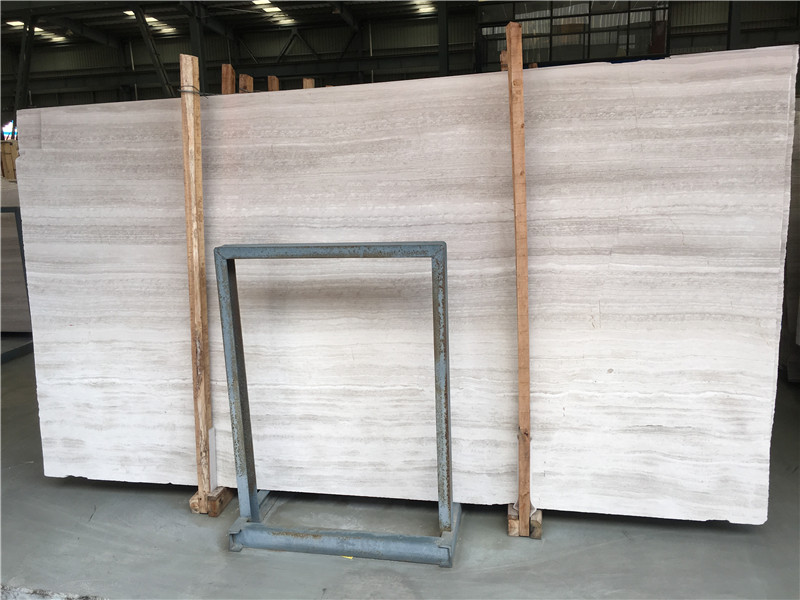 White Wood Marble Slabs & Tiles China White Marble for Floor Covering Wall Covering Countertop