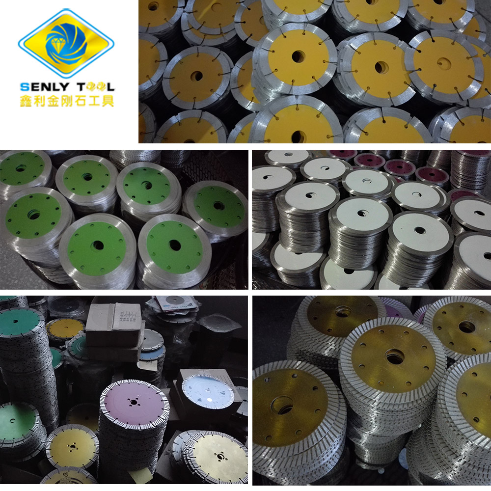 Small Diamond Cutting Saw Blade for Stone Cutting