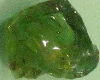Quartz silica glass greenish