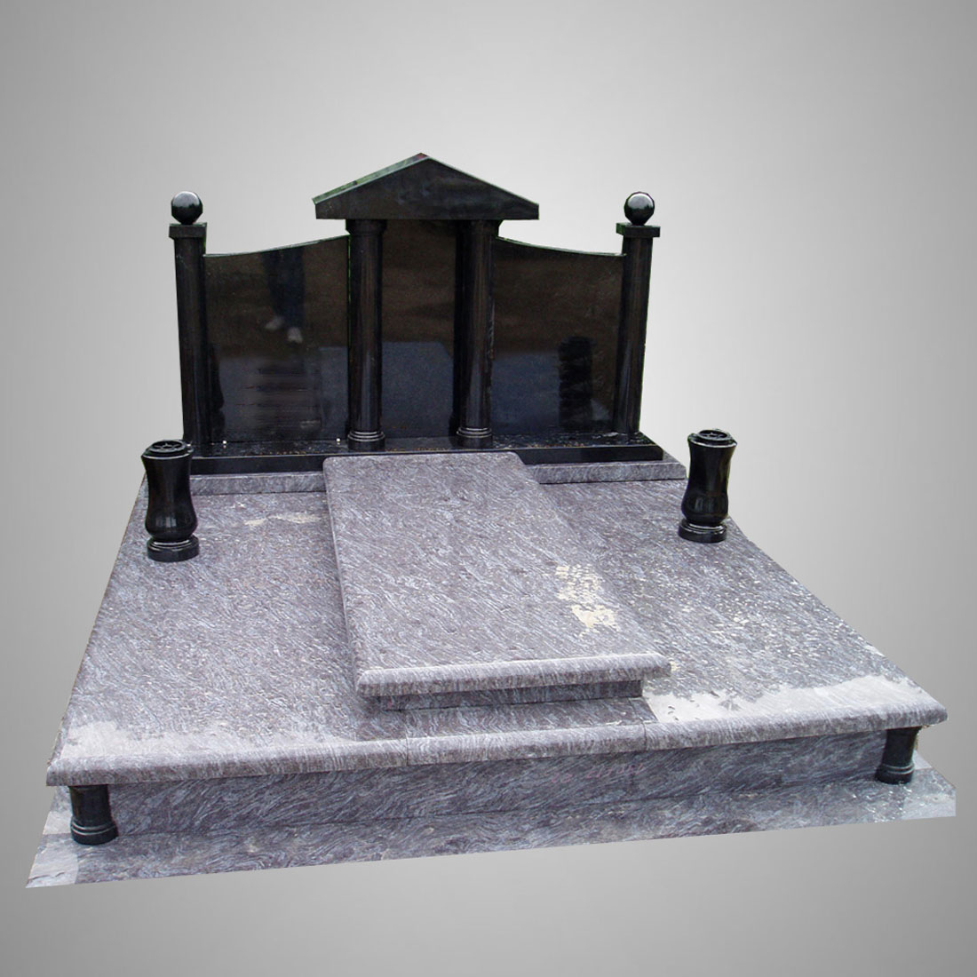 Modern Customized Slab Gravestones
