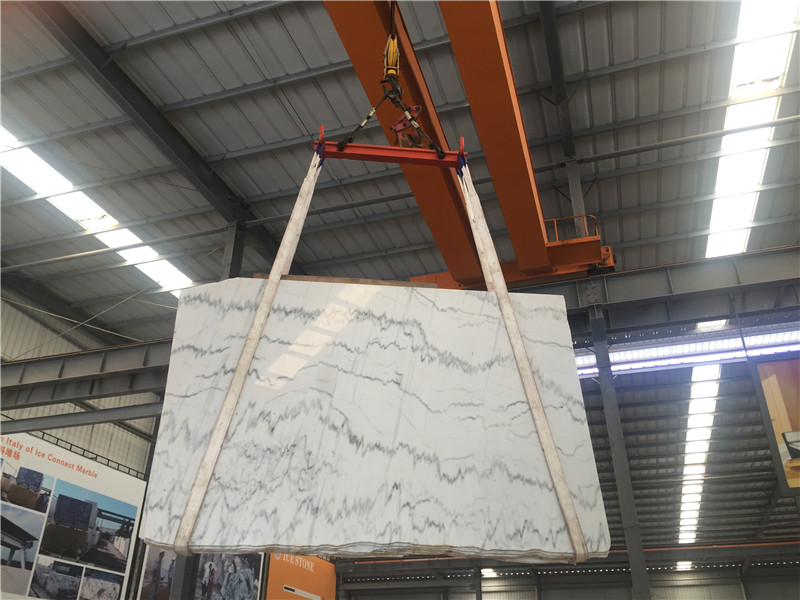 Cheap White Marble Sunny White Marble Slabs  China White Marble