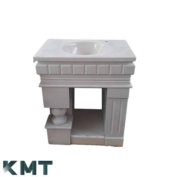 Pedestal Sink  Stone Basin S-15014