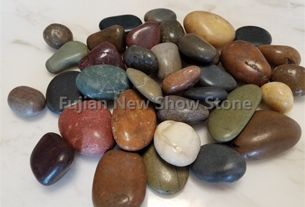 Cobble stone polished