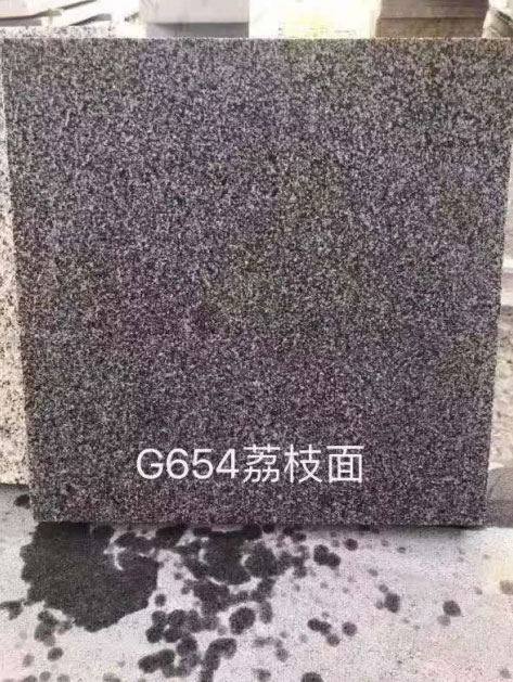 G654 Bushhammered Surface Granite Tiles from China