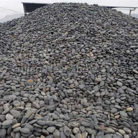 Ns014 dark grey cobble stone